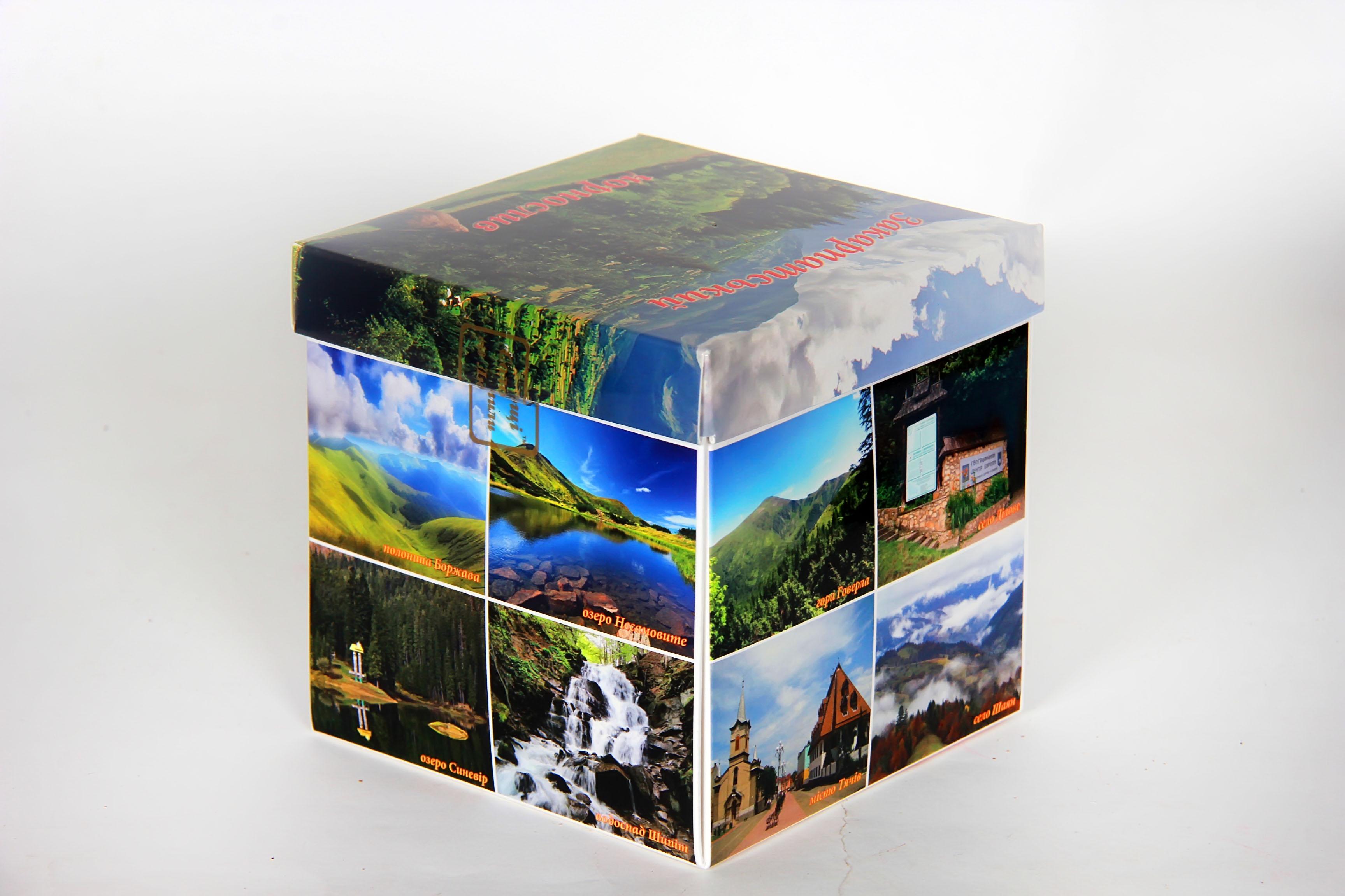 Иллюстрированный набор натуральных конфет