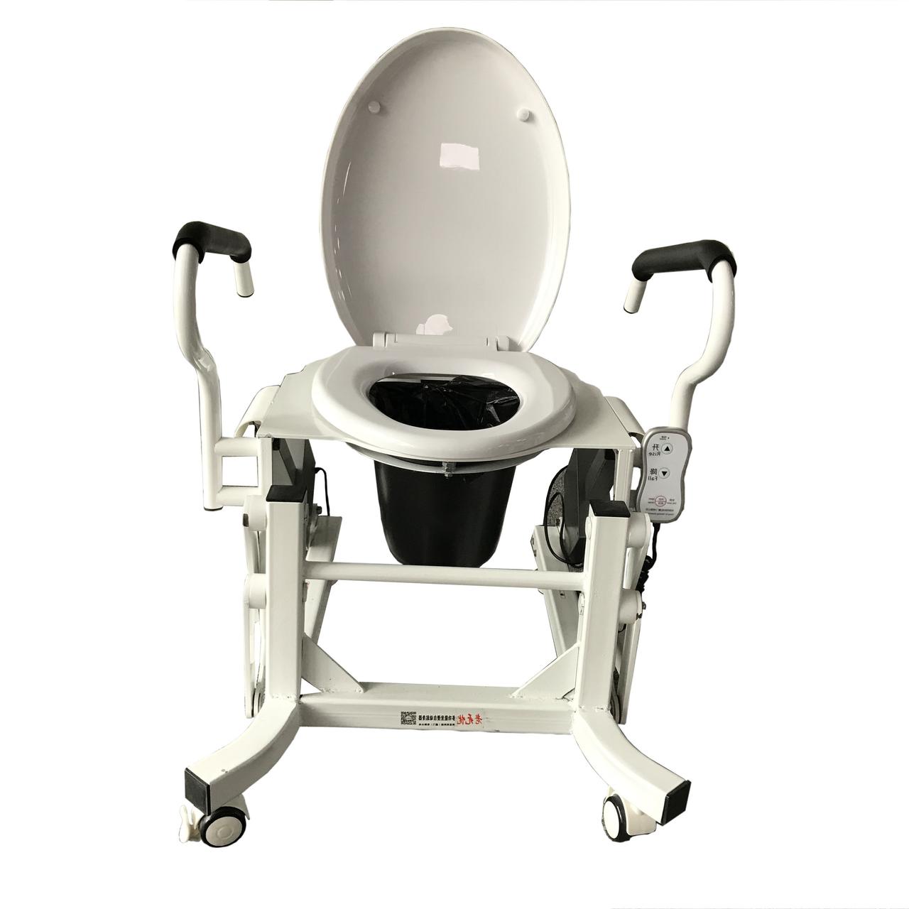 Крісло для туалету з підйомним механізмом пропонує компанія