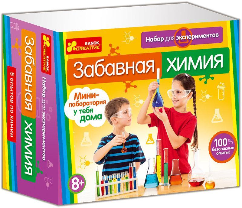 Интересные химические опыты для детей купить удобно и выгодно в