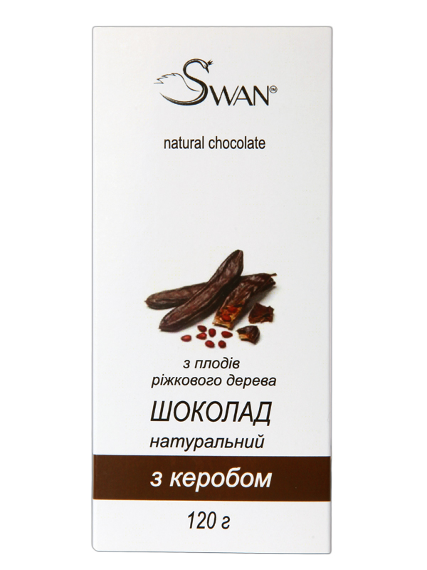 В продаже кэроб шоколад