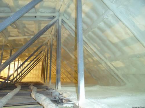 Бюджетний варіант утеплення приміщення: поліуретанове напиленнявід ППУ ПРОФІТ