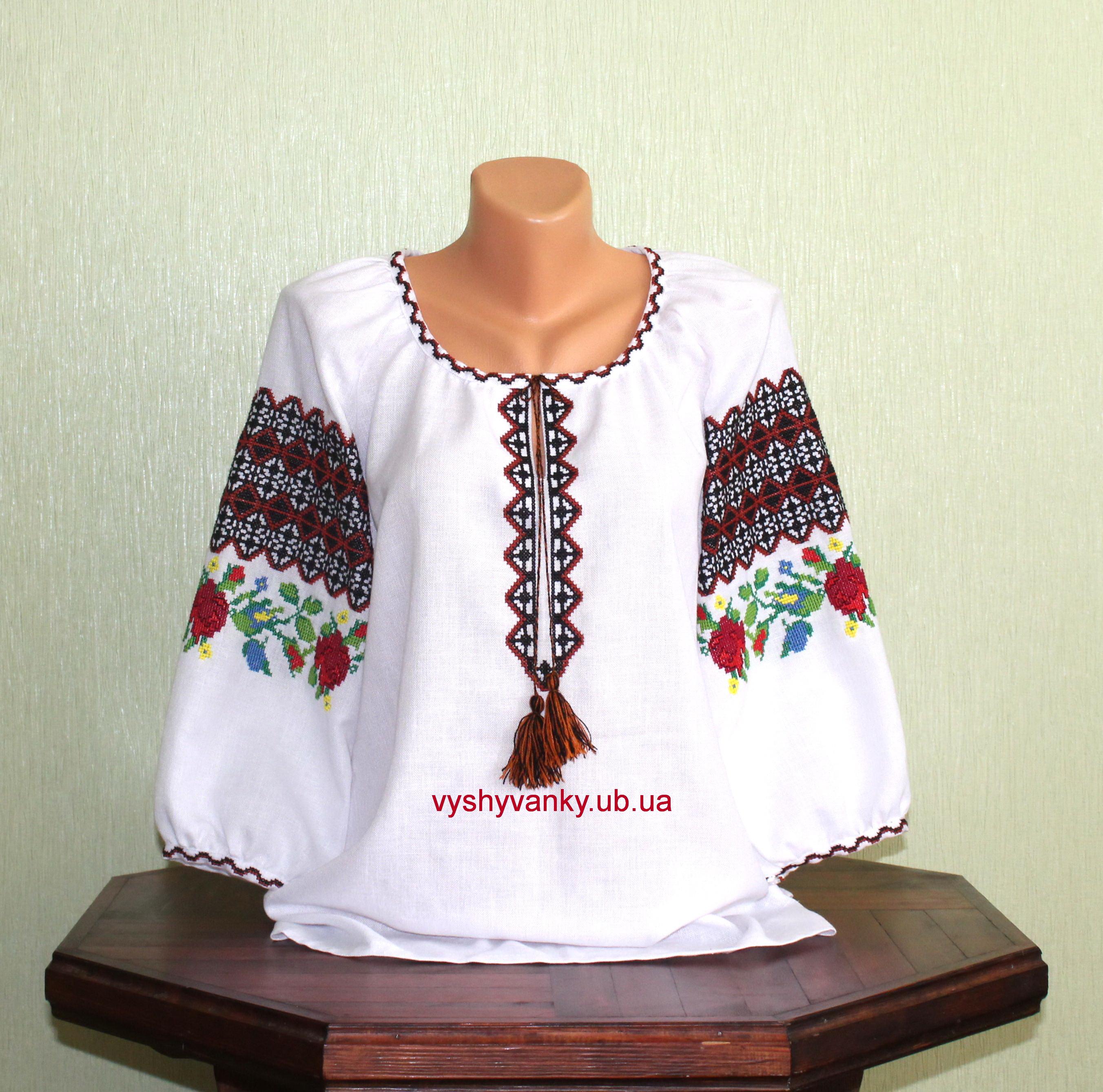 Вишиті сорочки у різноманітних стилях