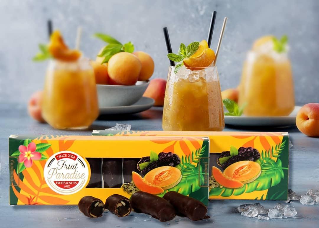 Вкусные и сытные конфеты из дыни и орехов
