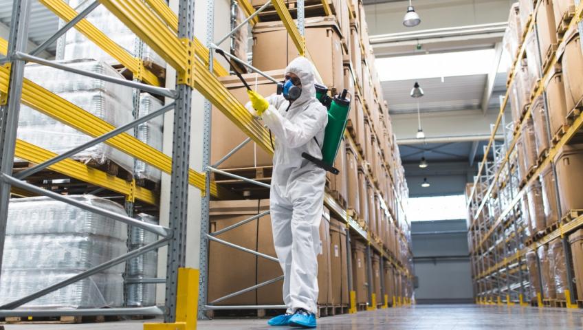 Дезінсекція на харчових підприємствах - ефективний та надійний метод боротьби з комахами.