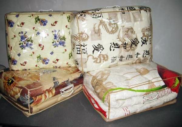 Вовняна стьогана ковдра купити недорого