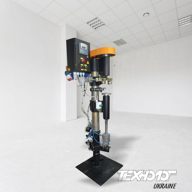 Для заказа доступна закаточная машинка полуавтомат