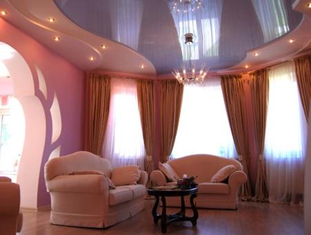 Заказывайте натяжные потолки из качественного прочного полотна