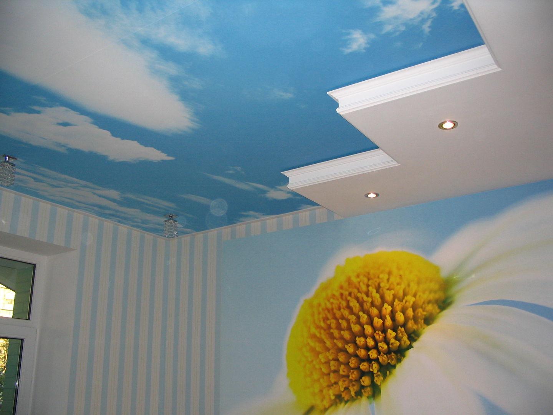 Обирайте натяжні стелі - універсальний засіб обробки стелі приміщення