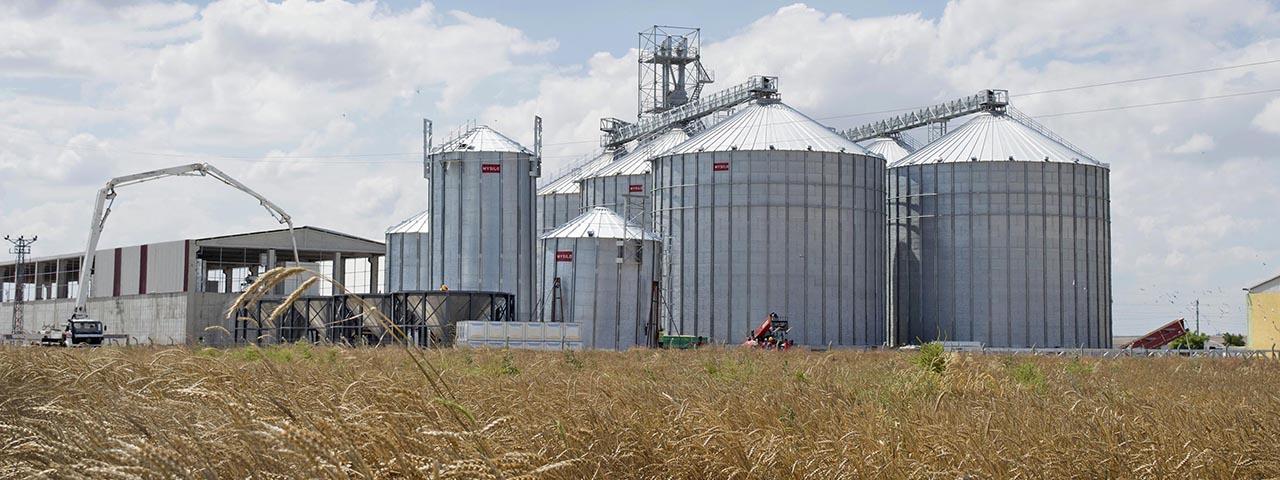 Будівництво зерносховищ на замовлення пропонуємо недорого