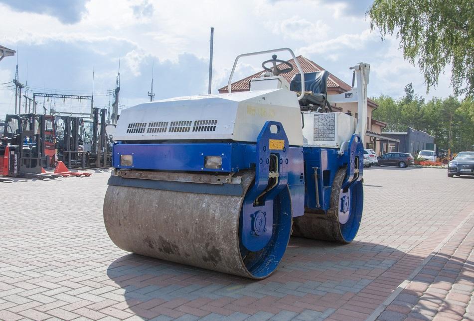Комбинированный каток Bomag BW 135 снова в продаже!