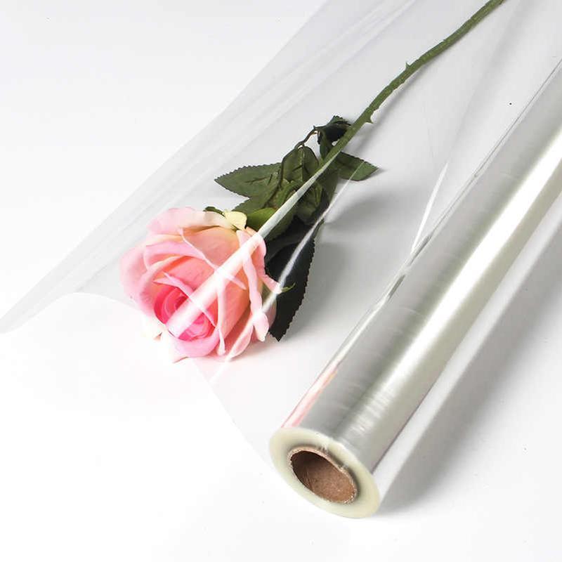 Упаковка квітів прозора для вашого квіткового центру !