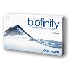 Осуществляем подбор контактных линз Biofinity
