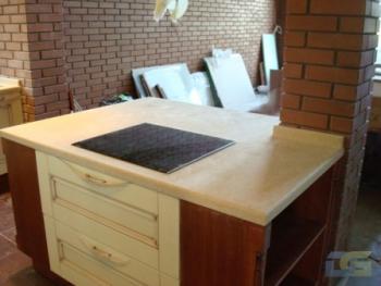 Изготавливаем столешницы из мрамора, гранита и кварцита