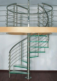 Производство лестниц из нержавейки