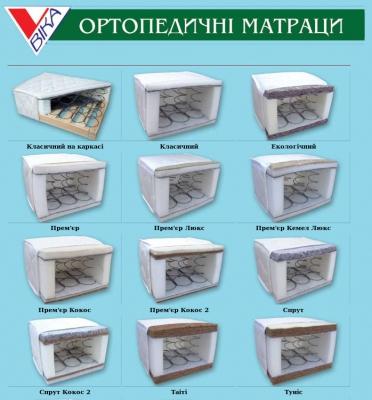 Продаются ортопедические матрасы Львов