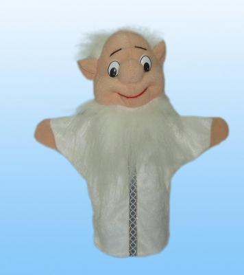 Іграшка-рукавичка у вигляді різних персонажів для домашнього лялькового театру