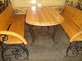 Ковані столи. Кращий вибір
