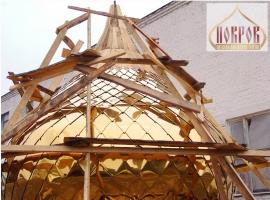 Куполи для храму. Гарантія — 50 років