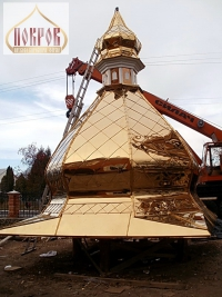 Изготовление куполов по доступным ценам