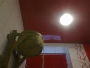 Предлагаем купить натяжные потолки