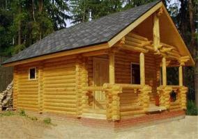 Осуществляем строительство домов из бруса в Украине