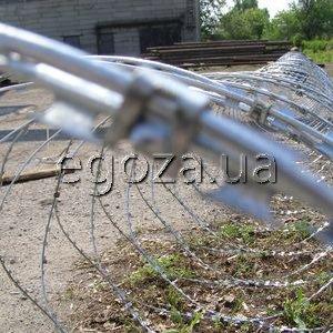 Изготавливаем колючая проволока Егоза 600 в Украине