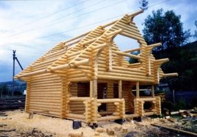 Будівництво дерев'яних будинків «під ключ»