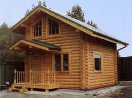 Возведение деревянного дома из сруба в Волынской области