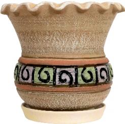 Эксклюзивные керамические горшки для цветов за полцены