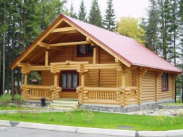 Houses made from timber. Comfort and coziness of your life!