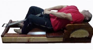 Пропонуємо до Вашої уваги тренажер-масажер для лікування остеохондрозу!