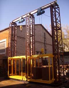 ПП Южреммонтаж реалізує вантажні підйомники під замовлення