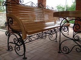 Скамейки кованые. Выбор по итальянским каталогам