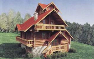 Строительство деревянных домов в Луцке