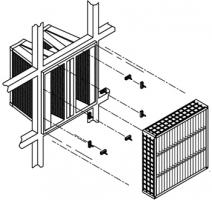 Фильтр воздушный компактный ячейковый EfiCell H10-H13, Киев