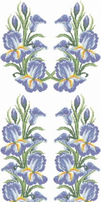 Схема вышивки бисером. Тернополь