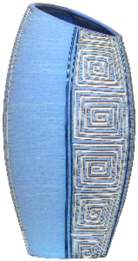 Дизайнерские керамические вазы ручной работы всего за полцены можно купить тут
