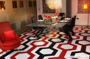 Декоративные 3D полы для кафе