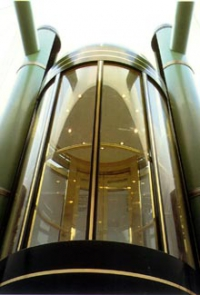 Установка элитных лифтов пассажирских панорамных