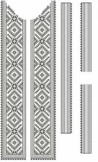 Схемы вышивки бисером на одежде. Розница