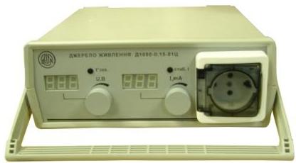 Високовольтне джерело живлення лабораторне Д1000-0,15-01ЦТ (0-1000В, 0-150мА).