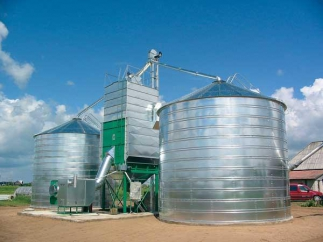 Услуги по монтажу зернохранилищ