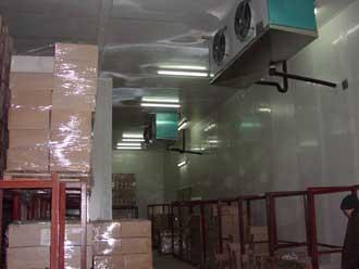 Строительство холодильных камер квалифицированными специалистами