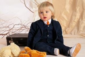 Ищете детский костюм джентельмена? Детские костюмы для мальчиков Krasnal - то, что Вам нужно