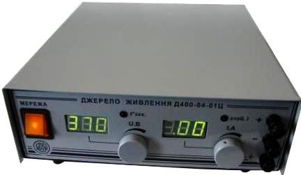 Джерело живлення лабораторне  Д400-04-01Ц (0-400В, 0-4А).