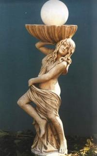 Ландшафтный дизайн: изготовление скульптур