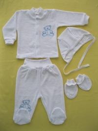 Детский трикотаж оптом: детские пижамы для самых маленьких