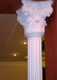 Do you like the monumental elements?Gypsum pillars,gypsum moulding are that what you need!