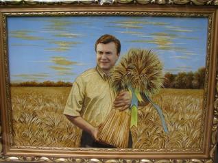 Портрети з бурштину - незвичайний подарунок для ваших близьких