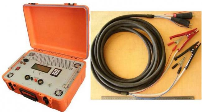 Микроомметр цифровой MOM 6-200-01D (6В,200А,1200Вт), герметичный корпус